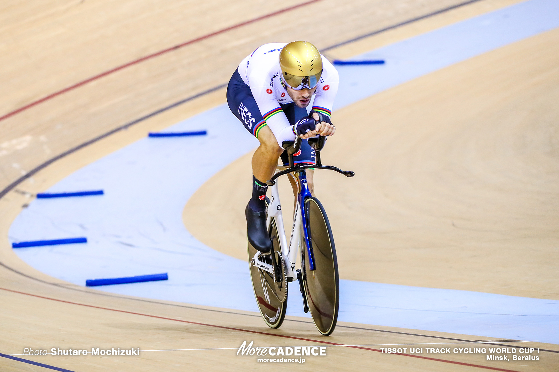 Fillipo Ganna, Qualifying / Men's Individual Pursuit / TISSOT UCI TRACK CYCLING WORLD CUP I, Minsk, Beralus
