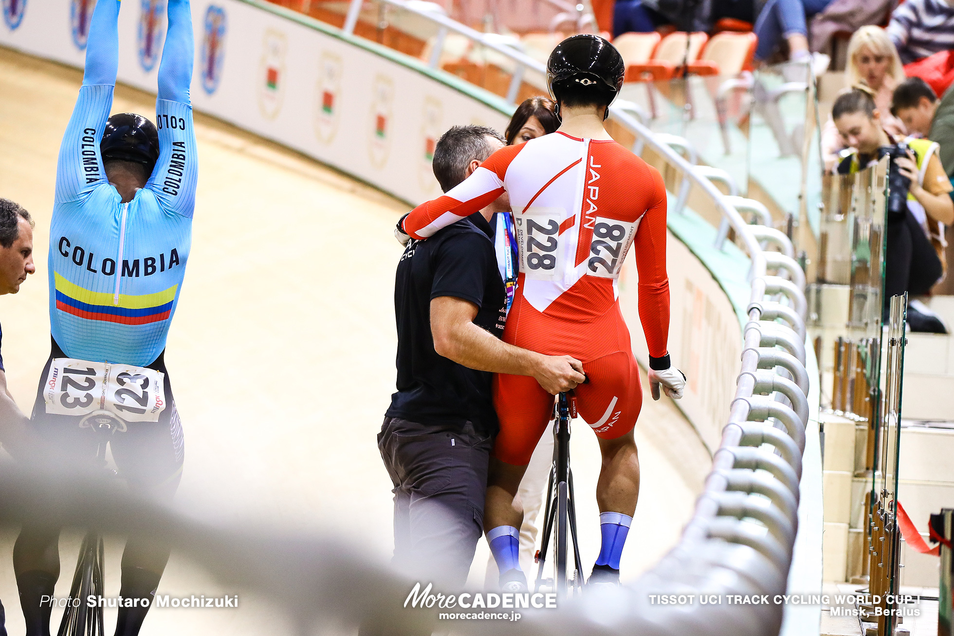 1st Round / Men's Sprint / TISSOT UCI TRACK CYCLING WORLD CUP I, Minsk, Beralus