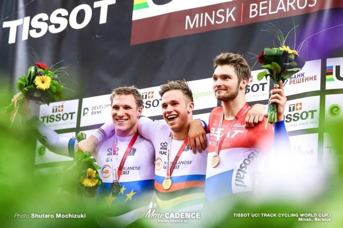 Finals / Men's Sprint / TISSOT UCI TRACK CYCLING WORLD CUP I, Minsk, Beralus