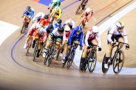 Scratch Race / Women's Omnium / TISSOT UCI TRACK CYCLING WORLD CUP II, Glasgow, Great Britain