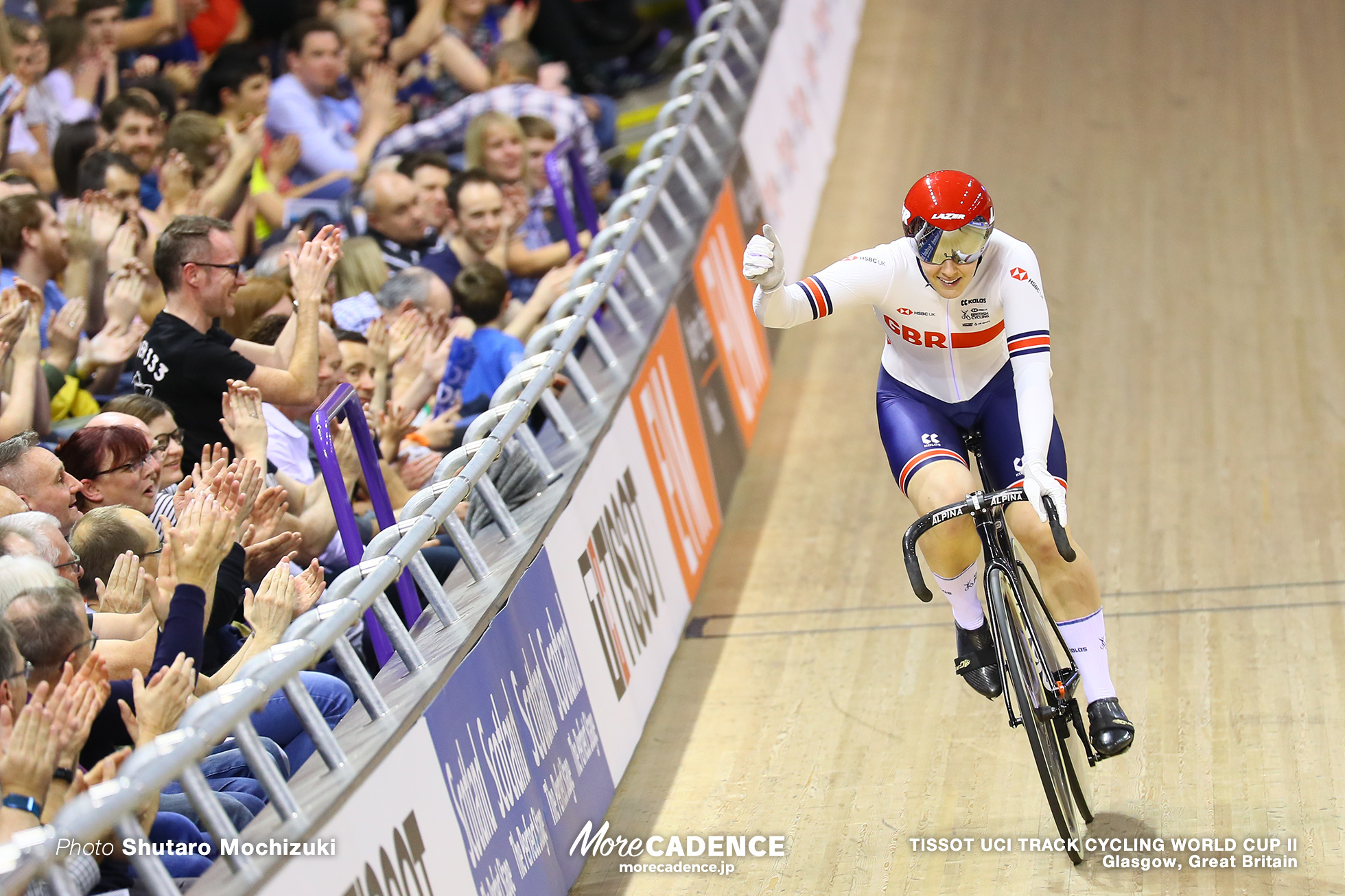 Final / Women's Keirin / TISSOT UCI TRACK CYCLING WORLD CUP II, Glasgow, Great Britain