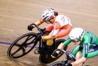 Point Race / Women's Omnium / TISSOT UCI TRACK CYCLING WORLD CUP II, Glasgow, Great Britain, 梶原悠未 Emily KAY エミリー・ケイ