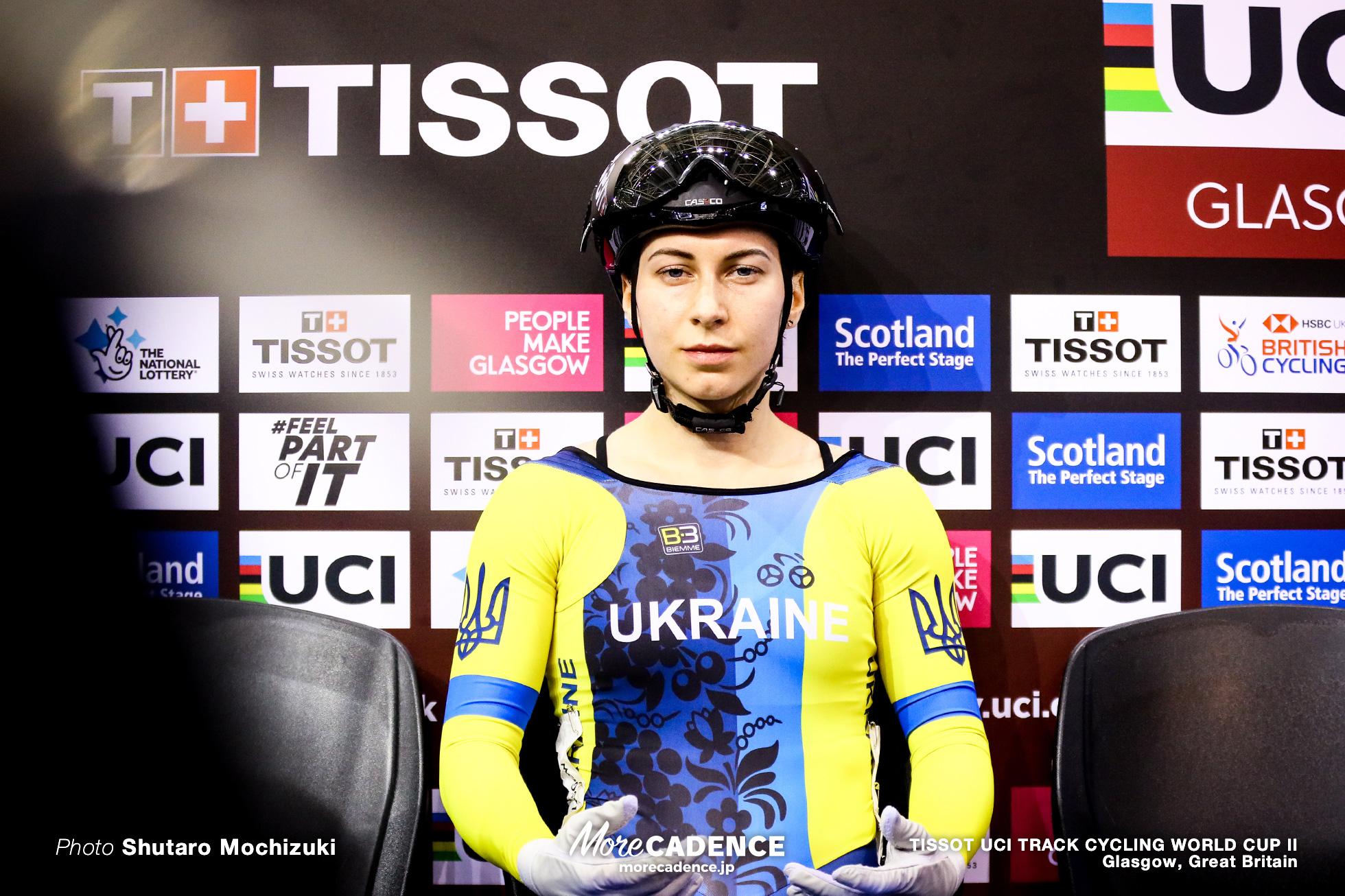 Final / Women's Sprint / TISSOT UCI TRACK CYCLING WORLD CUP II, Glasgow, Great Britain, Olena STARIKOVA オレナ・スタリコワ