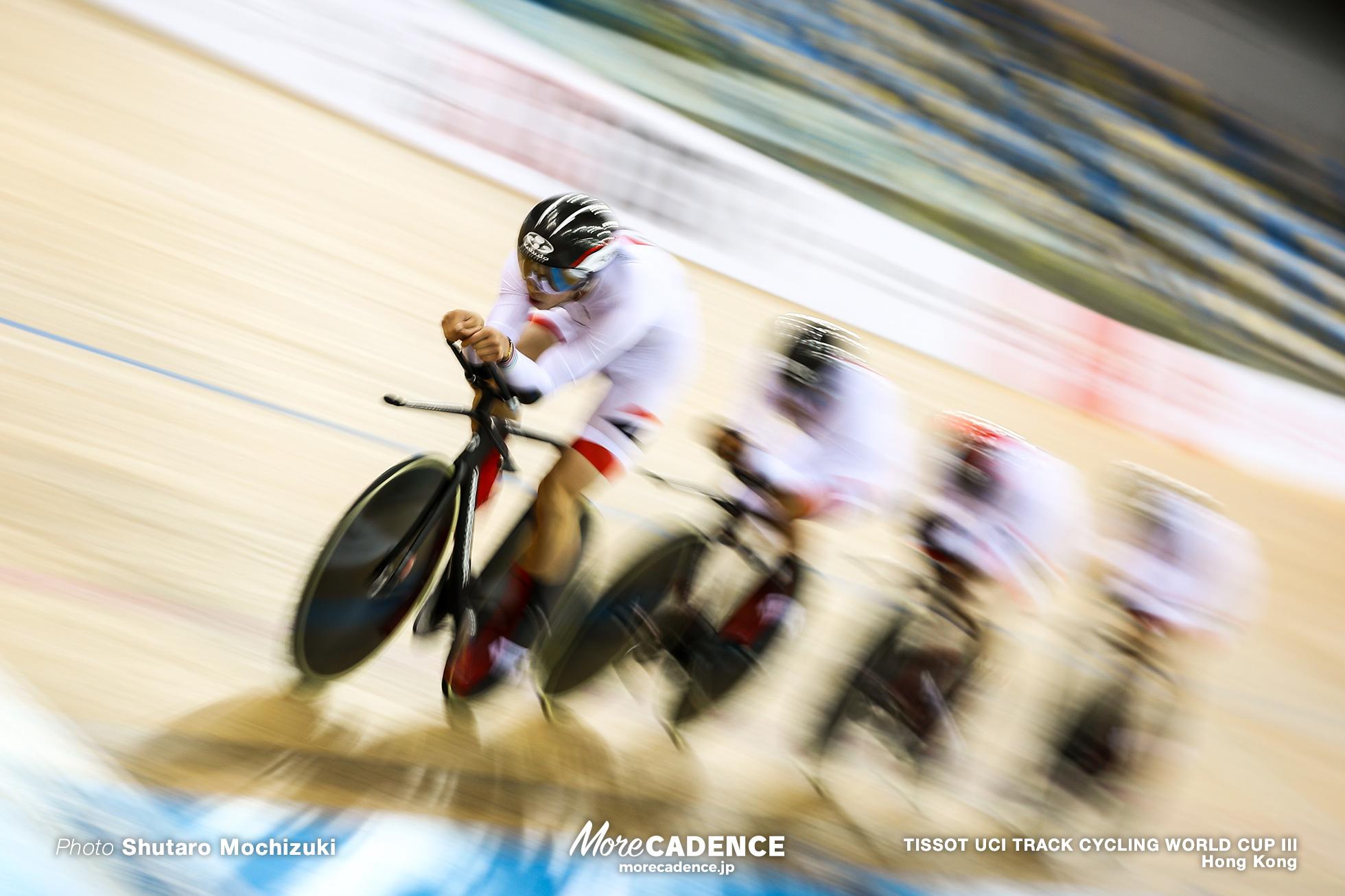 Men's Team Pursuit / TISSOT UCI TRACK CYCLING WORLD CUP III, Hong Kong