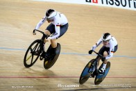 Women's Team Sprint / TISSOT UCI TRACK CYCLING WORLD CUP III, Hong Kong, Pauline Sophie GRABOSCH ポーリン・グラボッシュ Emma HINZE エマ・ヒンツェ