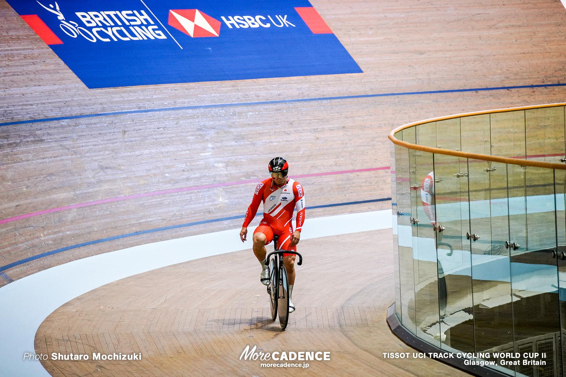 深谷知広 TISSOT UCI TRACK CYCLING WORLD CUP II, Glasgow, Great Britain
