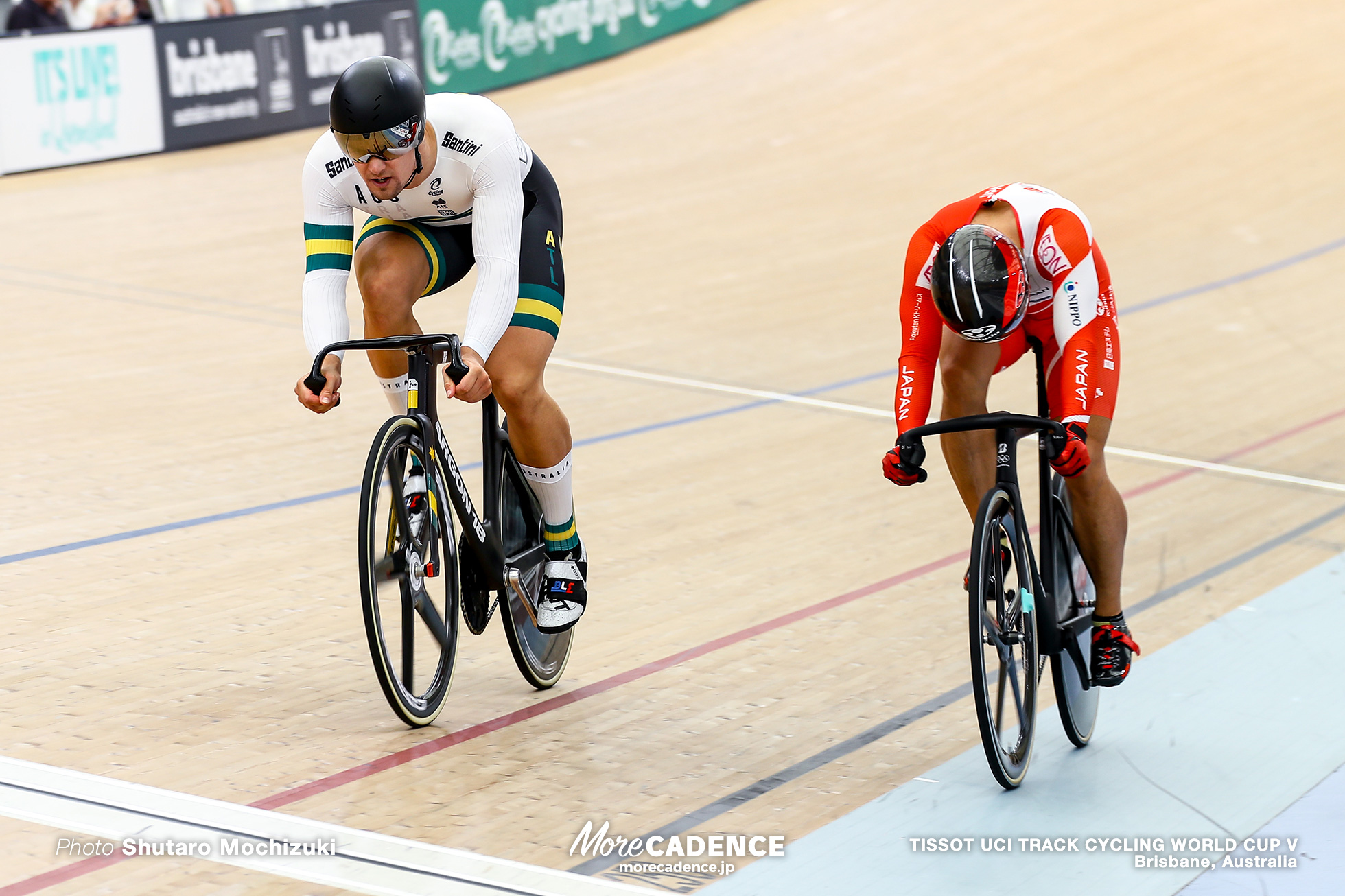 2nd Round / Men's Sprint / TISSOT UCI TRACK CYCLING WORLD CUP V, Brisbane, Australia