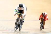 2nd Round / Men's Sprint / TISSOT UCI TRACK CYCLING WORLD CUP V, Brisbane, Australia, 脇本雄太 Matthew GLAETZER マシュー・グレーツァー