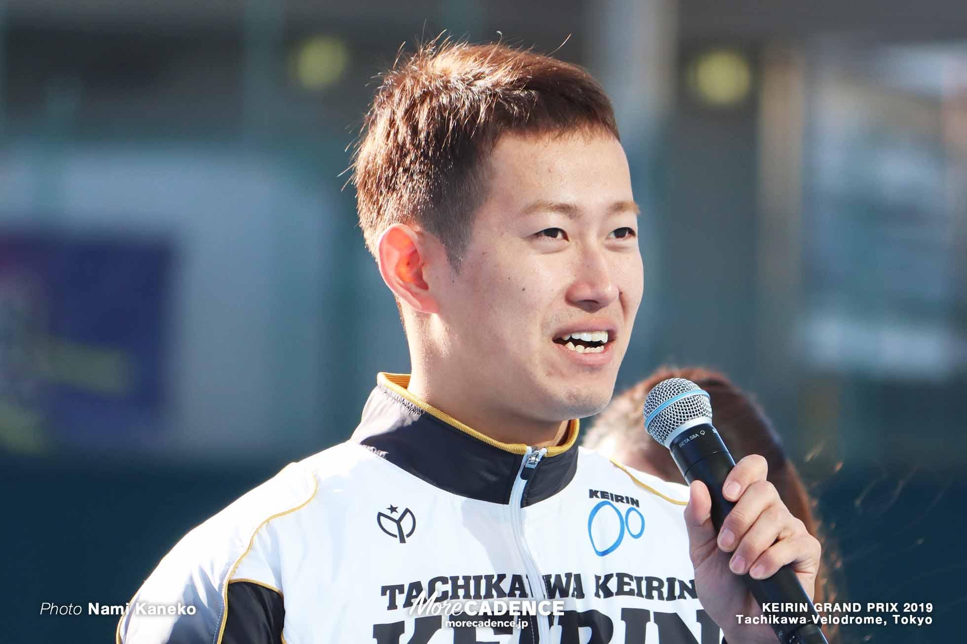 脇本雄太 KEIRINグランプリ2019 開会式