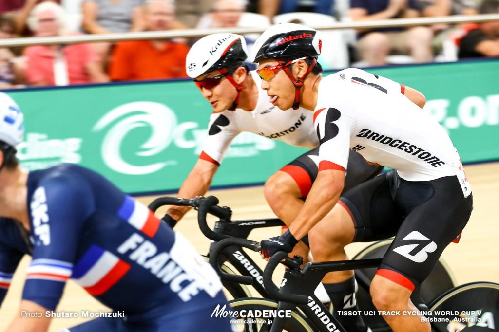 Men's Madison / TISSOT UCI TRACK CYCLING WORLD CUP V, Brisbane, Australia, 窪木一茂 今村駿介