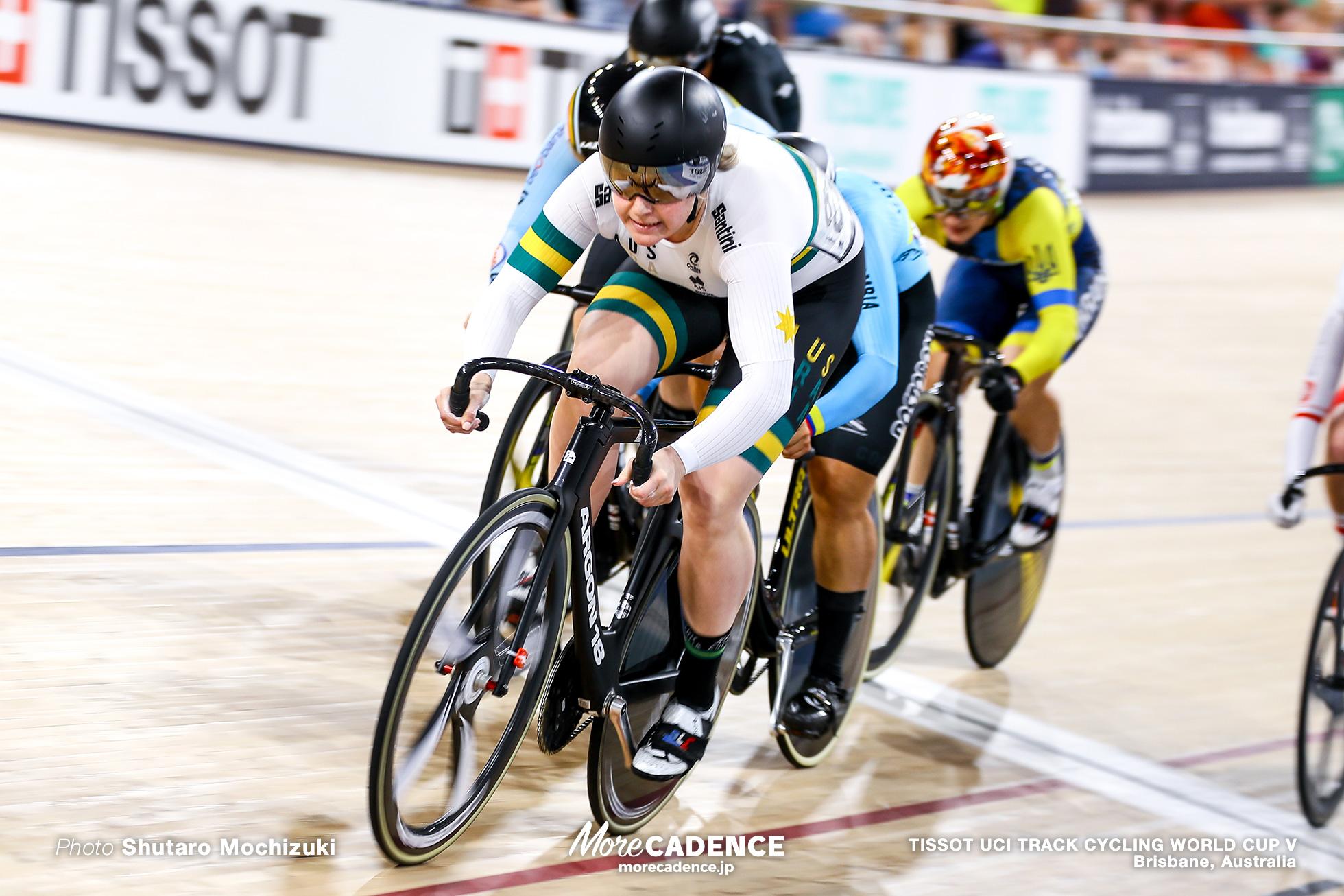Final / Women's Keirin / TISSOT UCI TRACK CYCLING WORLD CUP V, Brisbane, Australia