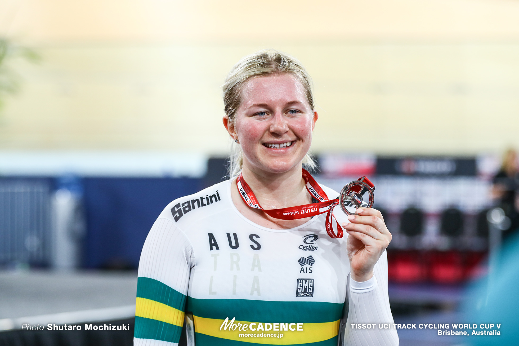 Final / Women's Keirin / TISSOT UCI TRACK CYCLING WORLD CUP V, Brisbane, Australia, Stephanie MORTON ステファニー・モートン