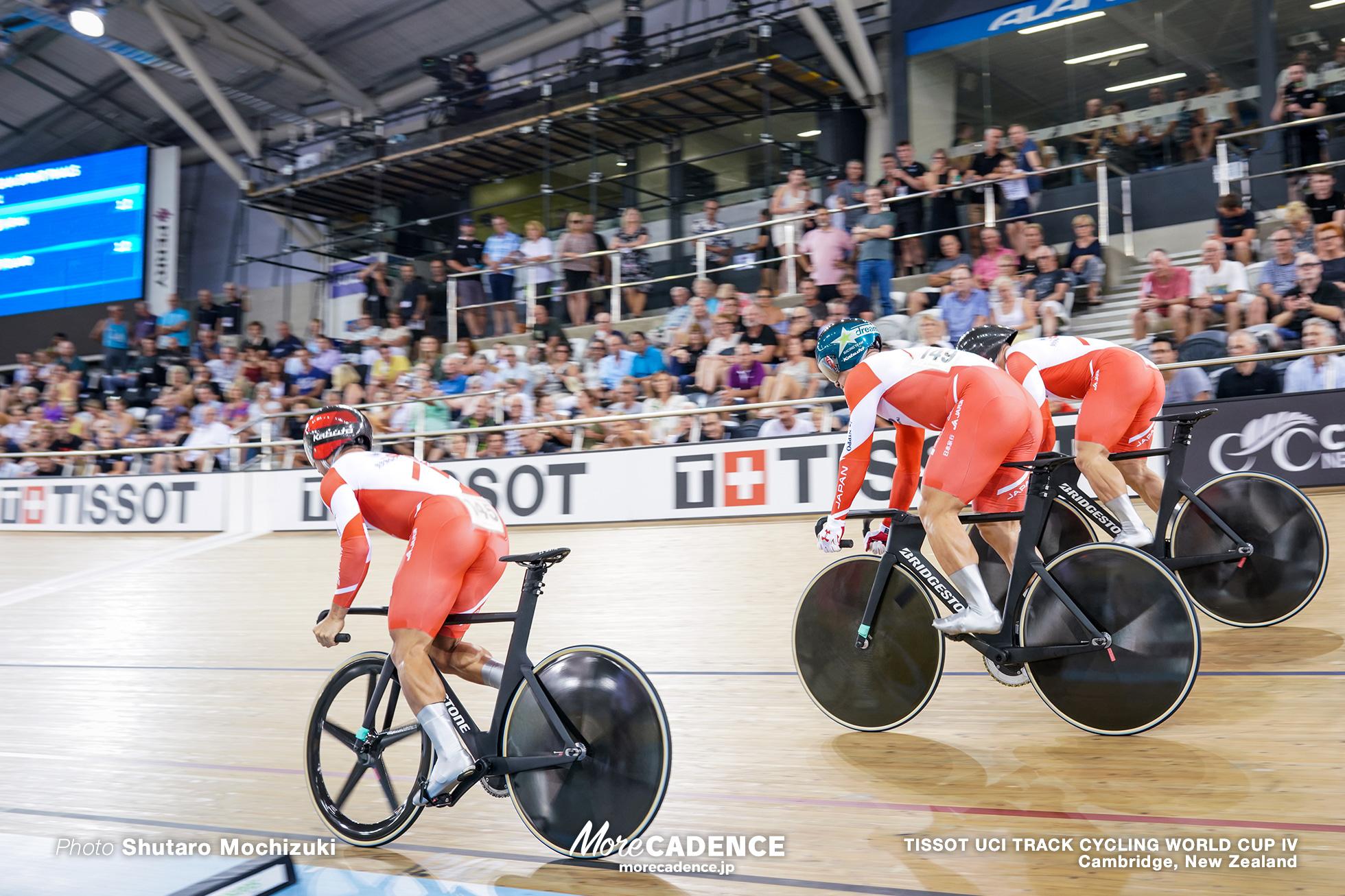 Final / Men's Team Sprint / TISSOT UCI TRACK CYCLING WORLD CUP IV, Cambridge, New Zealand