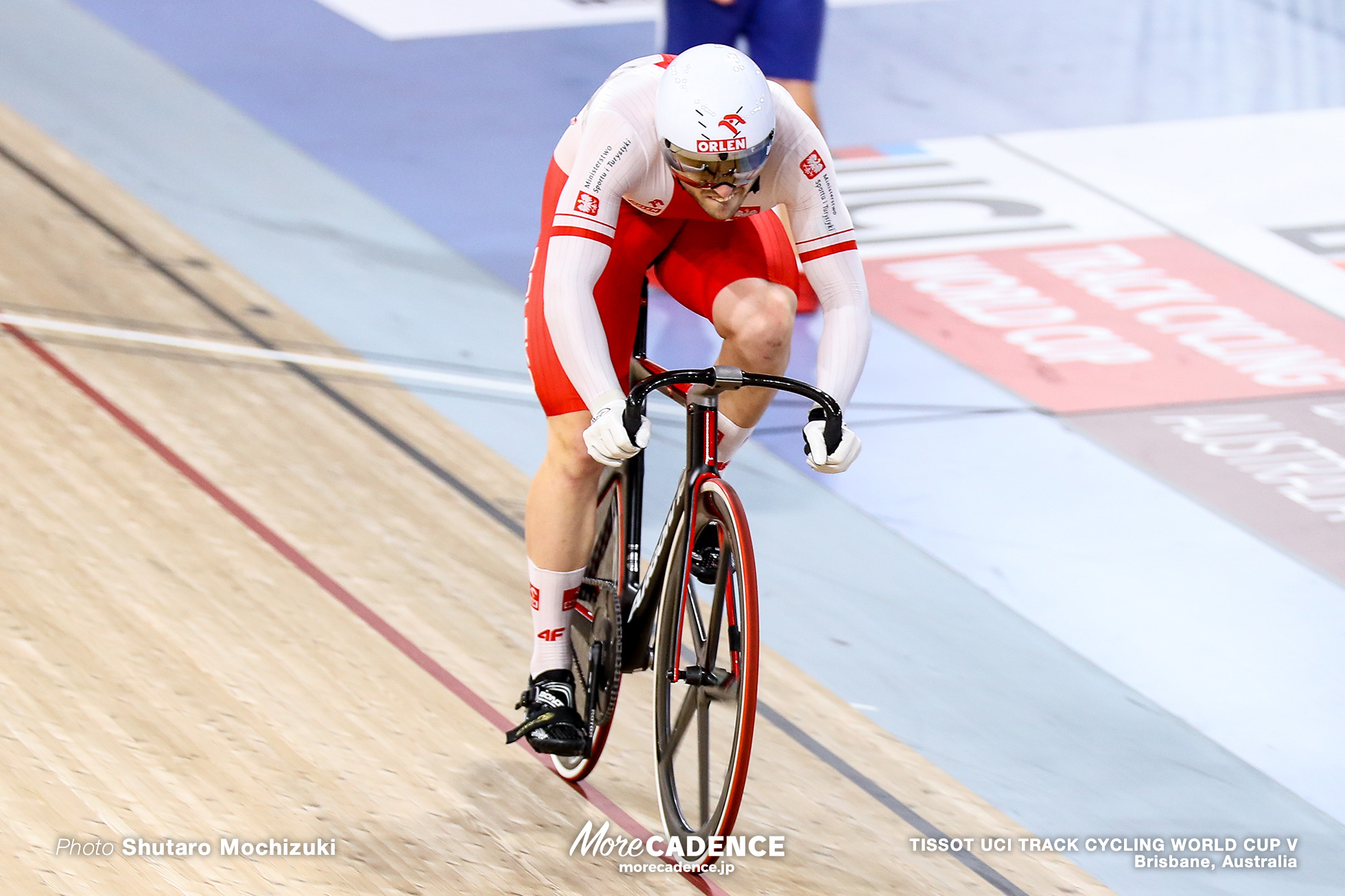 Final / Men's Sprint / TISSOT UCI TRACK CYCLING WORLD CUP V, Brisbane, Australia