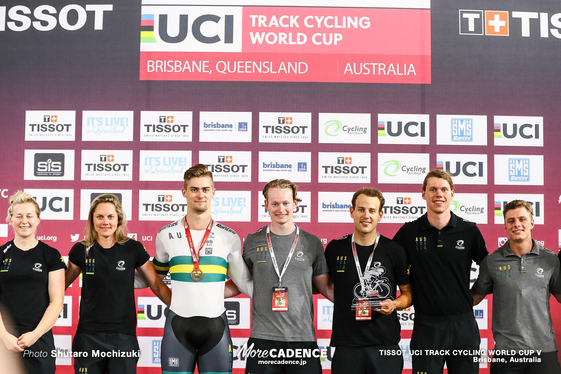 Final / Men's Sprint / TISSOT UCI TRACK CYCLING WORLD CUP V, Brisbane, Australia, Matthew GLAETZER マシュー・グレーツァー