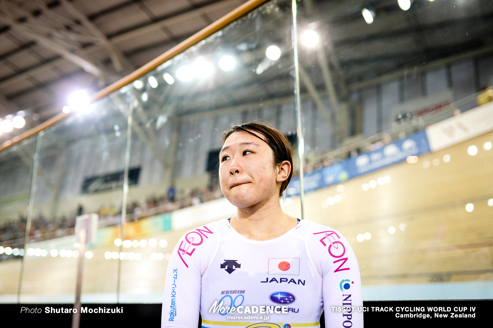 Point Race / Women's Omnium / TISSOT UCI TRACK CYCLING WORLD CUP IV, Cambridge, New Zealand, 梶原悠未