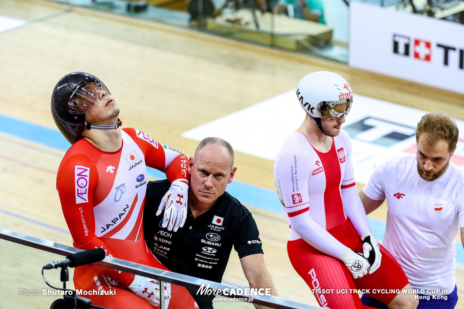 Final / Men's Sprint / TISSOT UCI TRACK CYCLING WORLD CUP III, Hong Kong, 深谷知広 Mateusz Rudyk マテウス・ルディク
