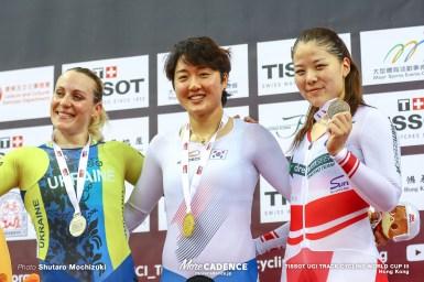 小林優香、自身シーズン初戦で銅メダル/女子ケイリン・2019-2020トラックワールドカップ第3戦香港