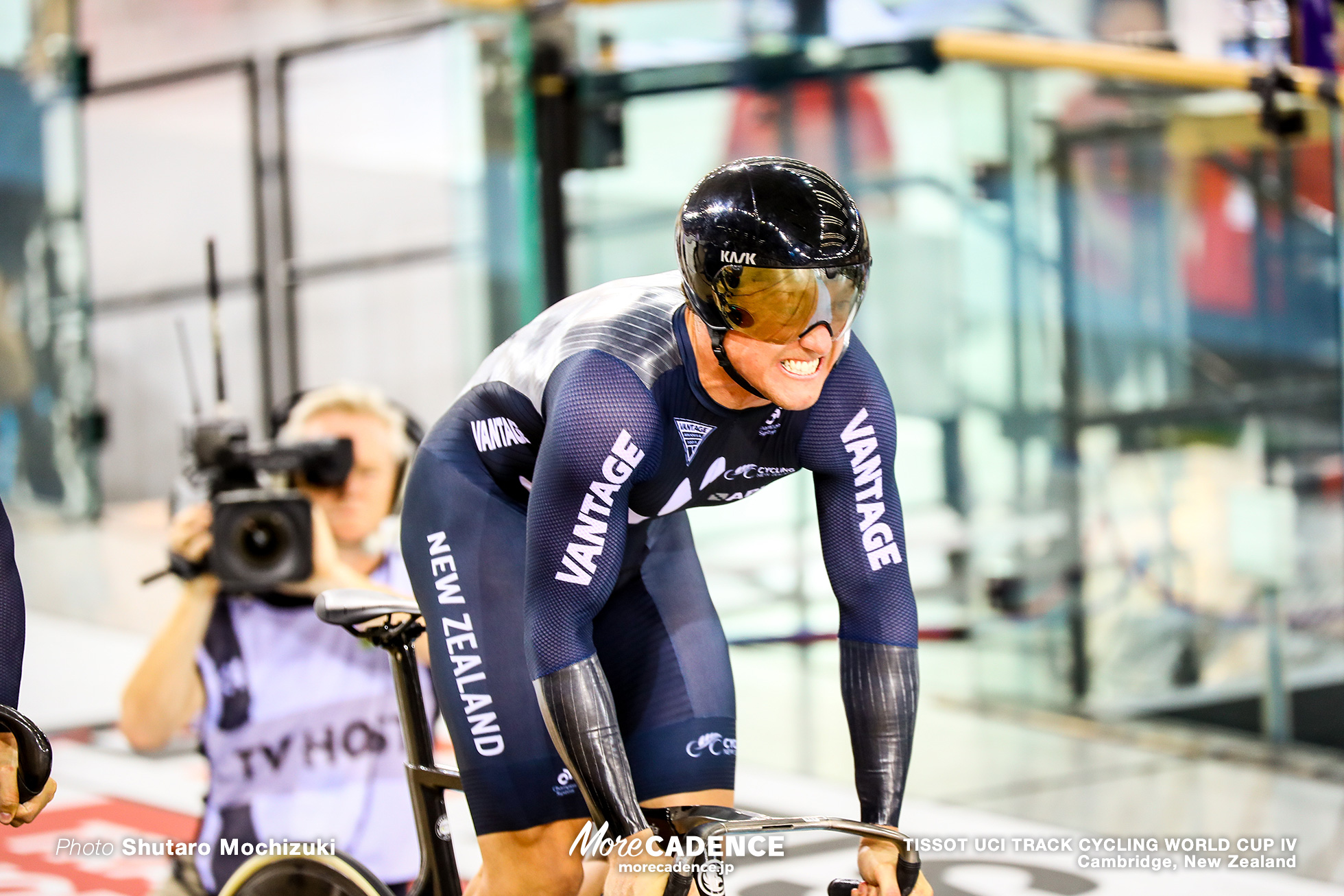 Qualifying / Men's Team Sprint / TISSOT UCI TRACK CYCLING WORLD CUP IV, Cambridge, New Zealand, Ethan MITCHELL イーサン・ミッチェル