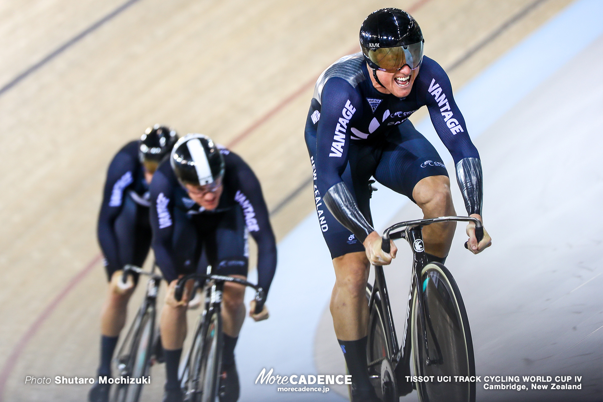 1st Round / Men's Team Sprint / TISSOT UCI TRACK CYCLING WORLD CUP IV, Cambridge, New Zealand