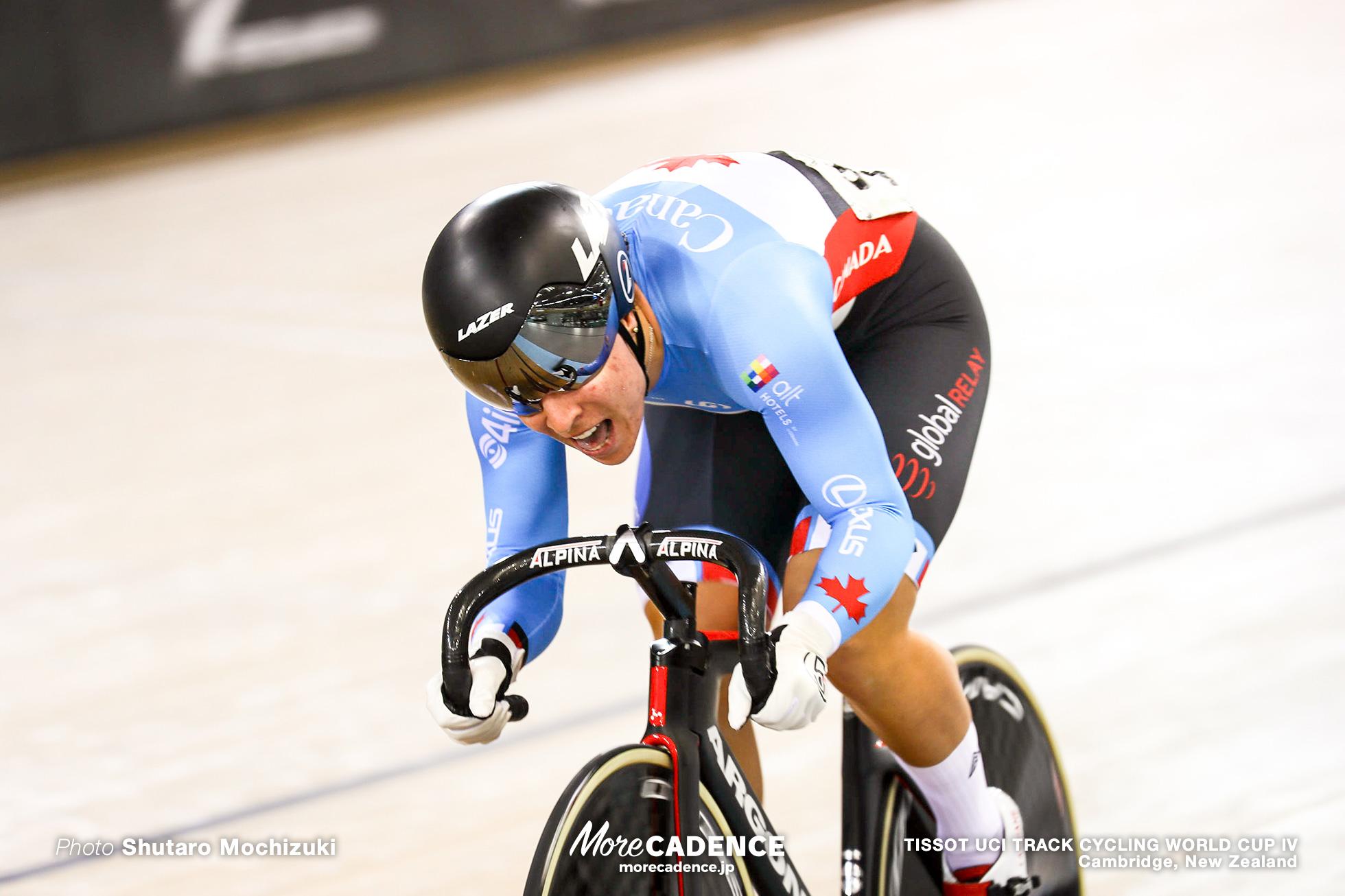 Qualifying / Women's Sprint / TISSOT UCI TRACK CYCLING WORLD CUP IV, Cambridge, New Zealand, Lauriane GENEST ロリアン・ジェネスト
