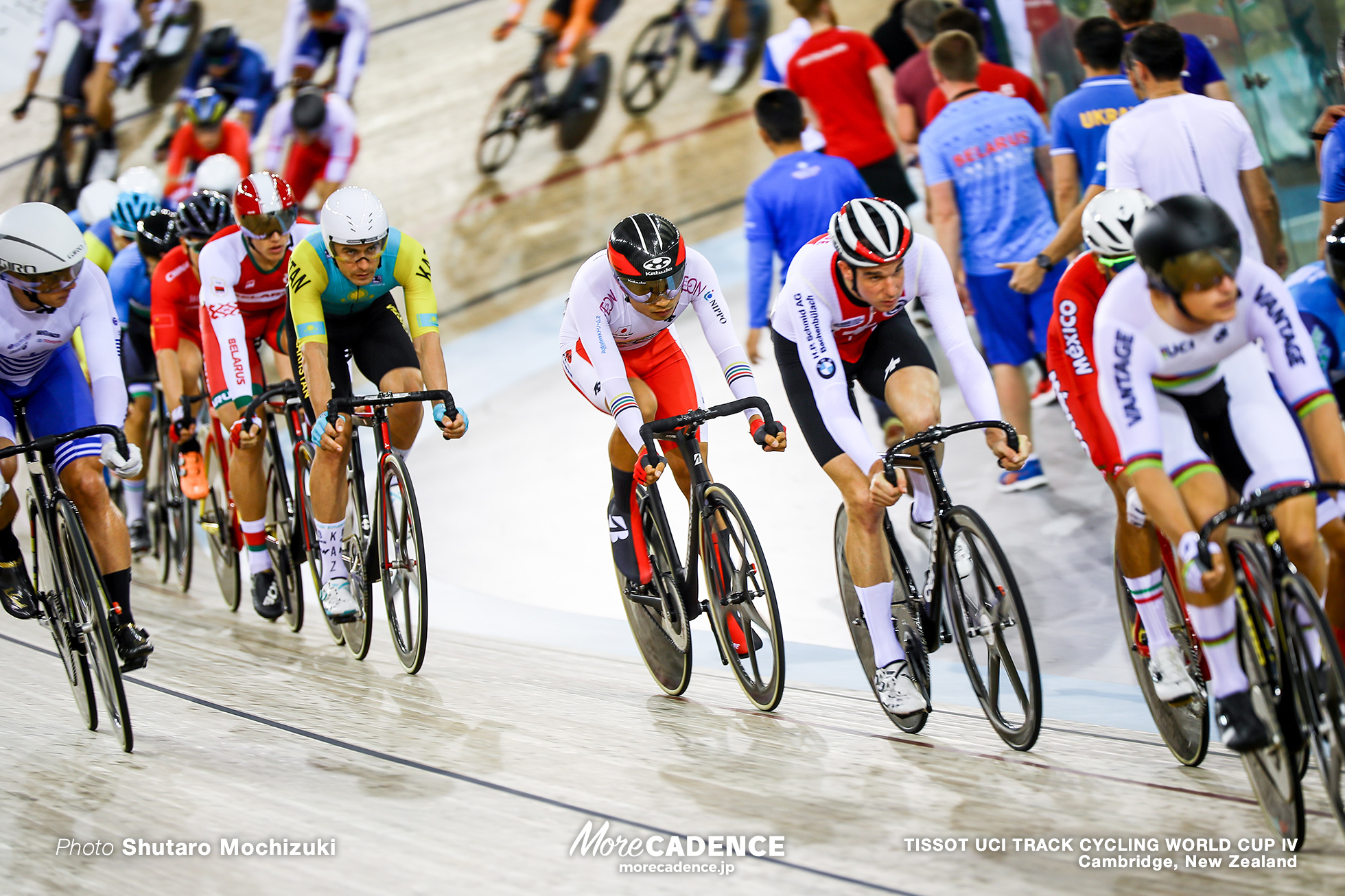 Scratch Race / Men's Omnium / TISSOT UCI TRACK CYCLING WORLD CUP IV, Cambridge, New Zealand