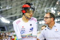 Elimination / Men's Omnium / TISSOT UCI TRACK CYCLING WORLD CUP IV, Cambridge, New Zealand, 橋本英也 クレイグ・グリフィン