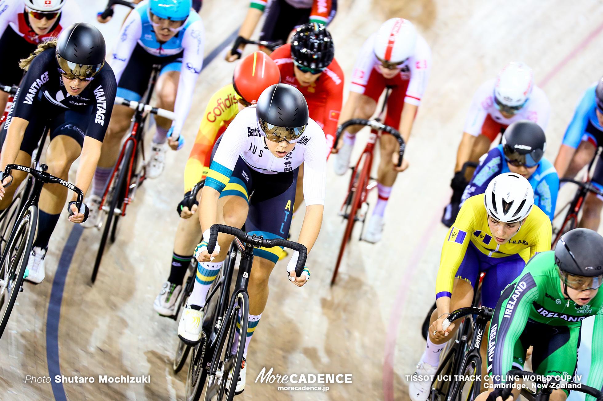 Scratch Race / Women's Omnium / TISSOT UCI TRACK CYCLING WORLD CUP IV, Cambridge, New Zealand