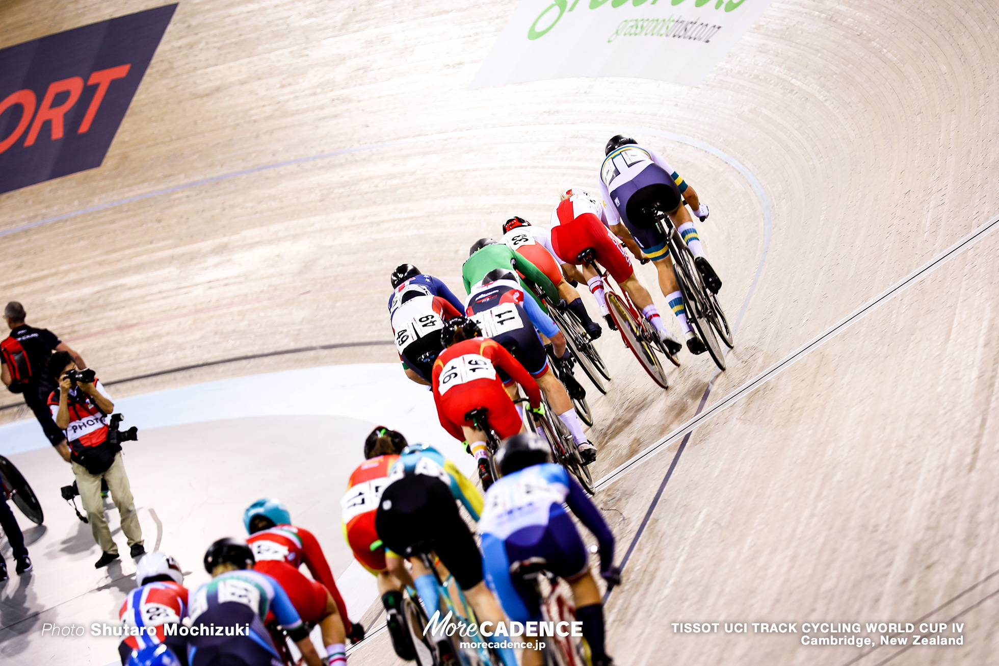 Scratch Race / Women's Omnium / TISSOT UCI TRACK CYCLING WORLD CUP IV, Cambridge, New Zealand