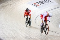 Final / Men's Sprint / TISSOT UCI TRACK CYCLING WORLD CUP IV, Cambridge, New Zealand, 深谷知広 Mateusz Rudyk マテウス・ルディク