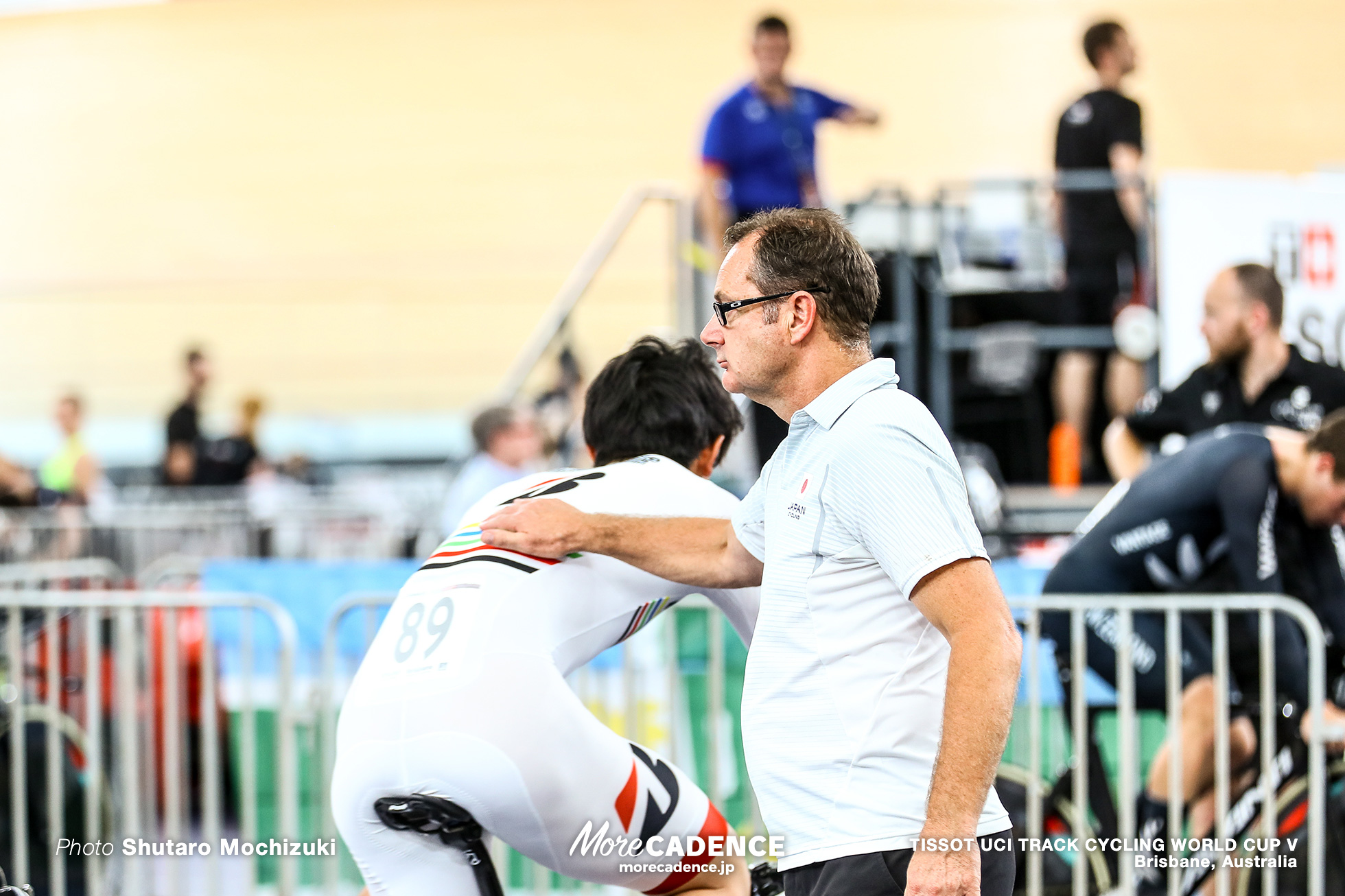 Qualifying / Men's Team Pursuit / TISSOT UCI TRACK CYCLING WORLD CUP V, Brisbane, Australia