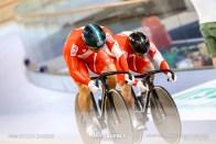 Qualifying / Men's Team Sprint / TISSOT UCI TRACK CYCLING WORLD CUP V, Brisbane, Australia, 新田祐大 深谷知広