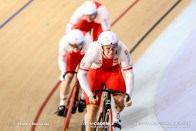 Qualifying / Men's Team Sprint / TISSOT UCI TRACK CYCLING WORLD CUP V, Brisbane, Australia, Maciej BIELECKI マチェイ・ビエレツキ Mateusz RUDYK マテウス・ルディク Patryk RAJKOWSKI パトリック・ライコフスキ