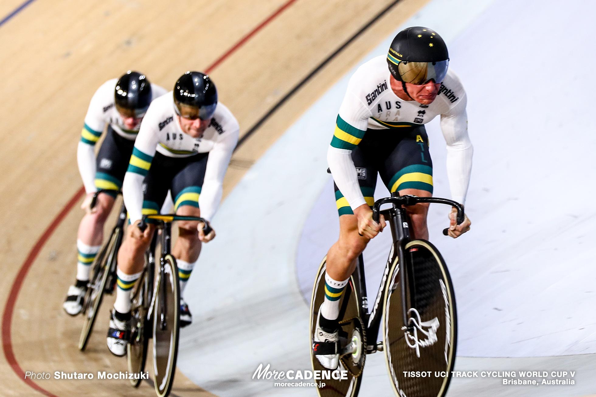 1st Round / Men's Team Sprint / TISSOT UCI TRACK CYCLING WORLD CUP V, Brisbane, Australia