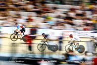 Men's Omnium / Point Race / TISSOT UCI TRACK CYCLING WORLD CUP V, Brisbane, Australia, 橋本英也 Aaron GATE アーロン・ゲイト