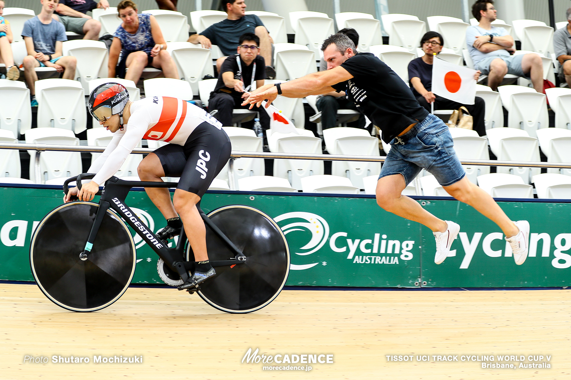 Qualifying / Men's Sprint / TISSOT UCI TRACK CYCLING WORLD CUP V, Brisbane, Australia