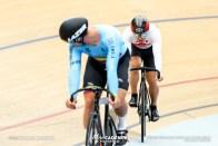 1st Round / Men's Sprint / TISSOT UCI TRACK CYCLING WORLD CUP V, Brisbane, Australia, 河端朋之 Santiago RAMIREZ MORALES サンティアゴ・ラミレス・モラレス