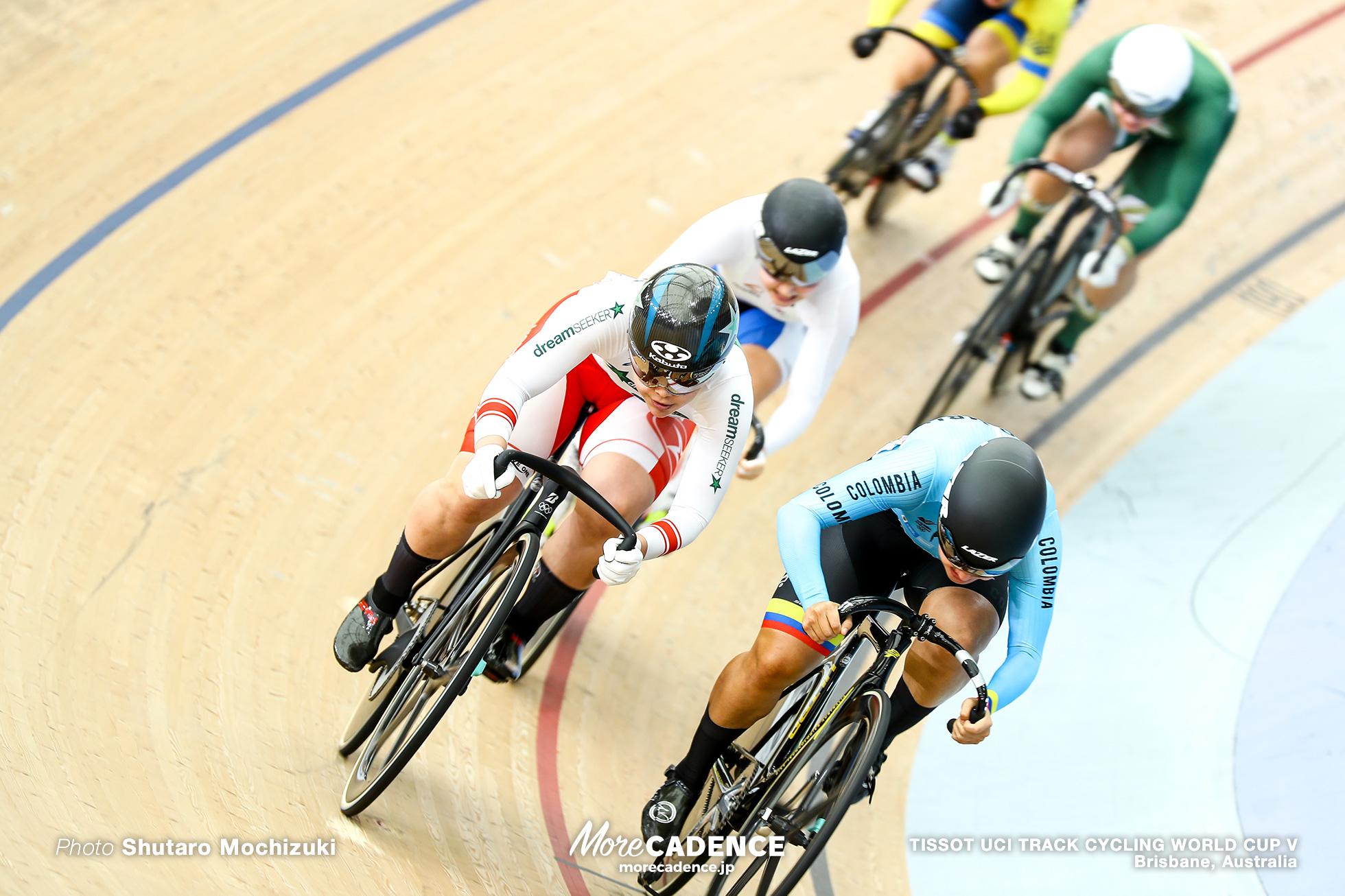 1st Round / Women's Keirin / TISSOT UCI TRACK CYCLING WORLD CUP V, Brisbane, Australia