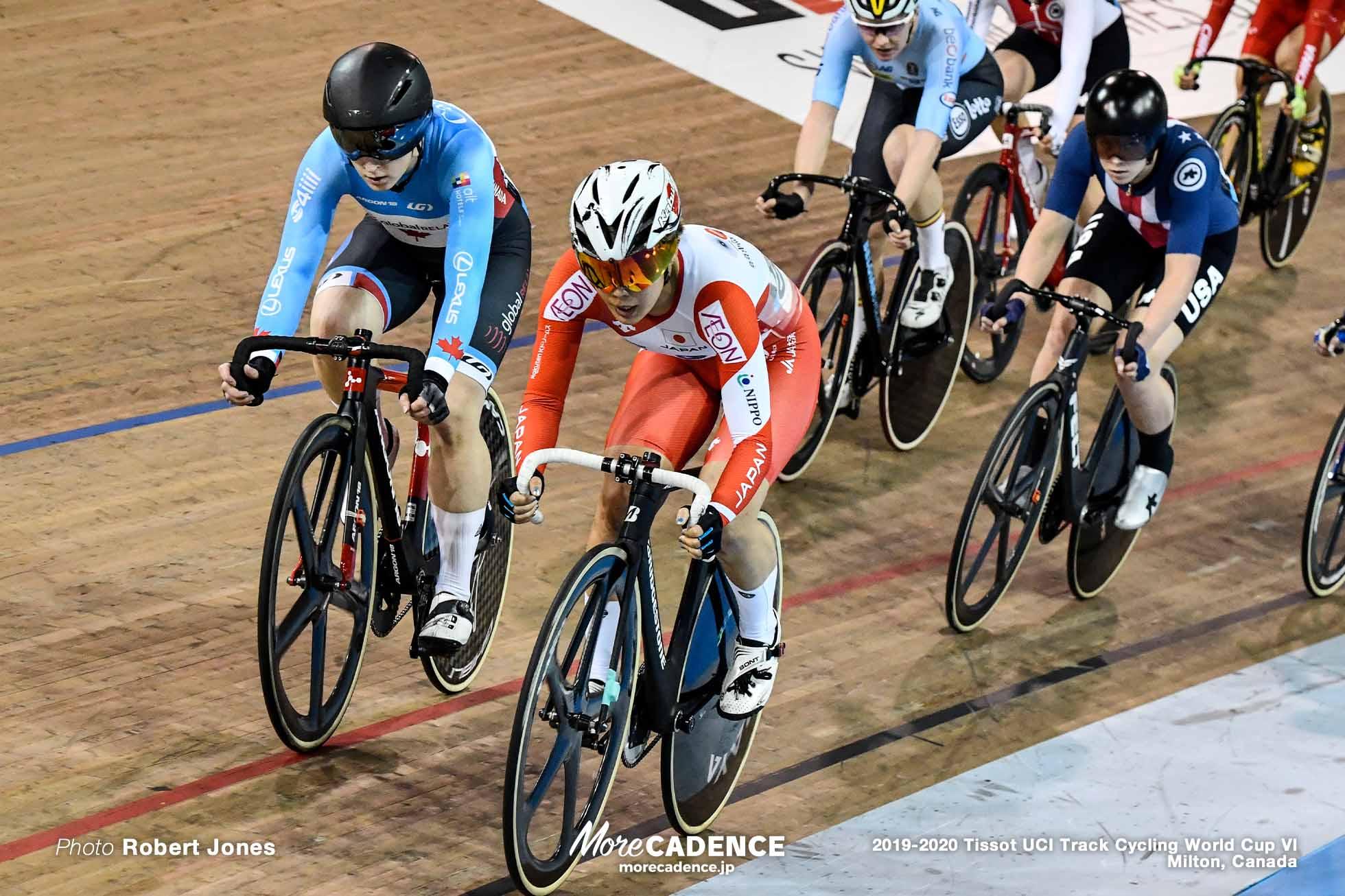 Women's Omnium / TISSOT UCI TRACK CYCLING WORLD CUP VI, Milton, Canada, 中村妃智