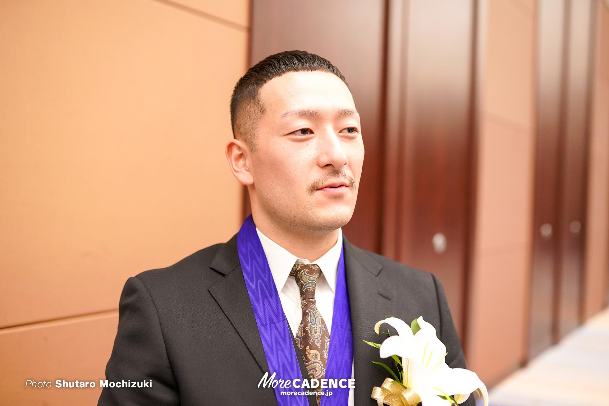 令和元年優秀選手表彰式 松井宏佑