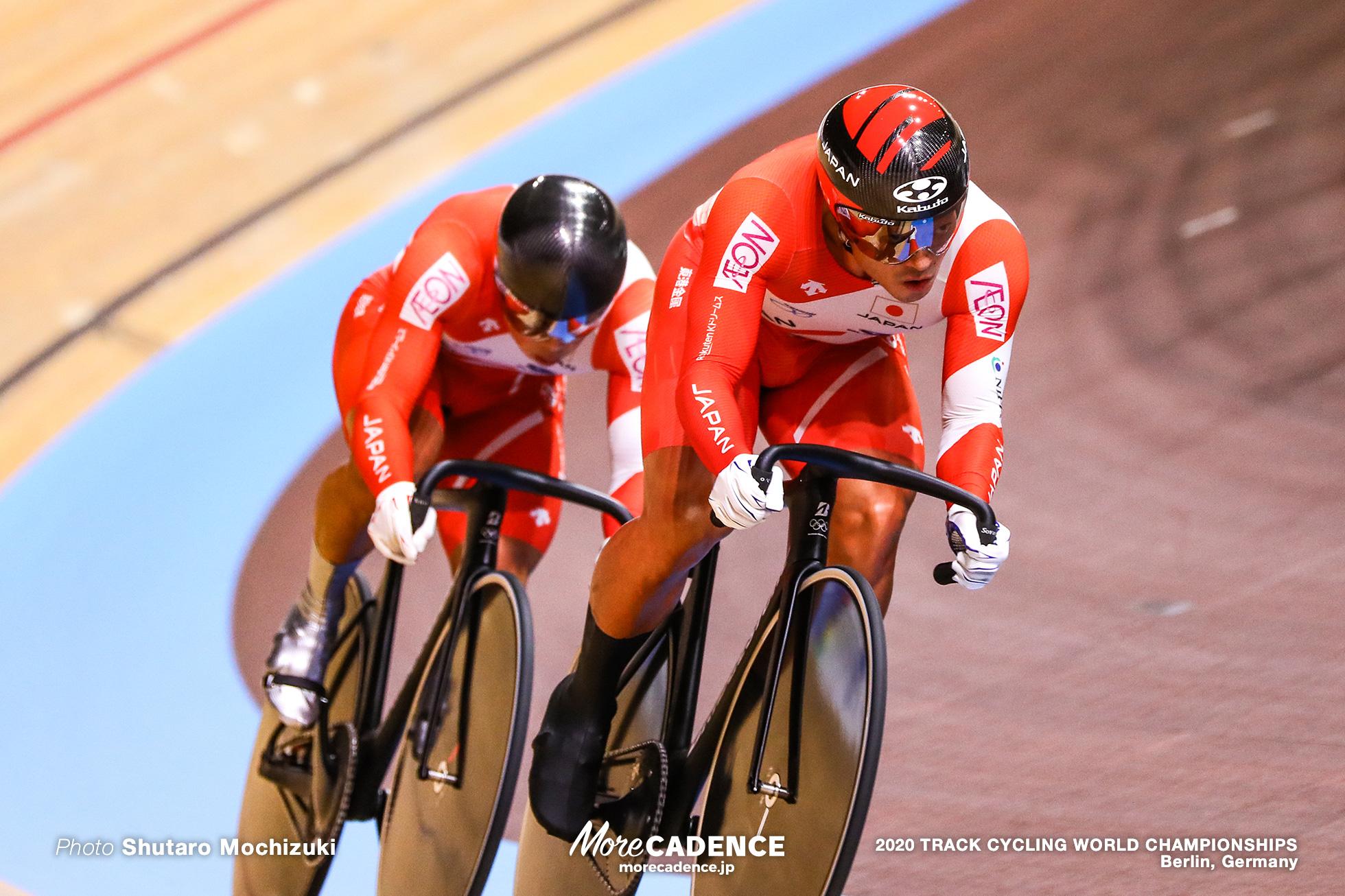 Qualifying / Men's Team Sprint / 2020 Track Cycling World Championships, 新田祐大 Nitta Yudai, 深谷知広 Fukaya Tomohiro