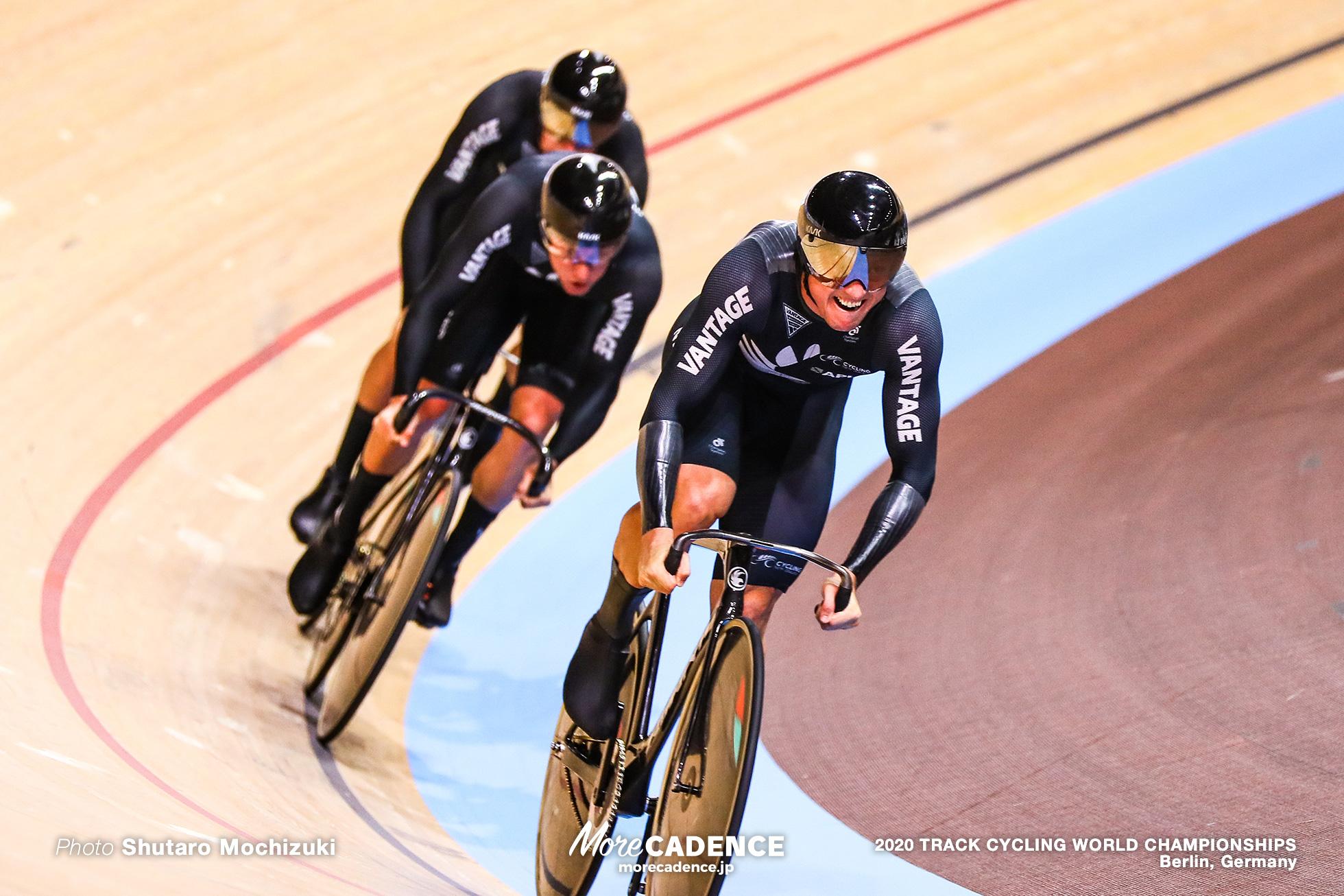 Qualifying / Men's Team Sprint / 2020 Track Cycling World Championships