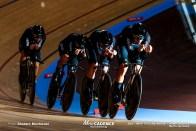 1st Round / Men's Team Pursuit / 2020 Track Cycling World Championships /ニュージーランド New Zealand/ キャンベル・スチュワート Campbell Stewart, アーロン・ゲイト Aaron GATE, リーガン・ゴフ Regan Gough, ジョーダン・カービー Jordan Kerby