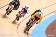 1st Round Repechage / Men's Keirin / 2020 Track Cycling World Championships, Bos Theo テオ・ボス, Sam Webster サム・ウェブスター, Jason Kenny, ジェイソン・ケニー