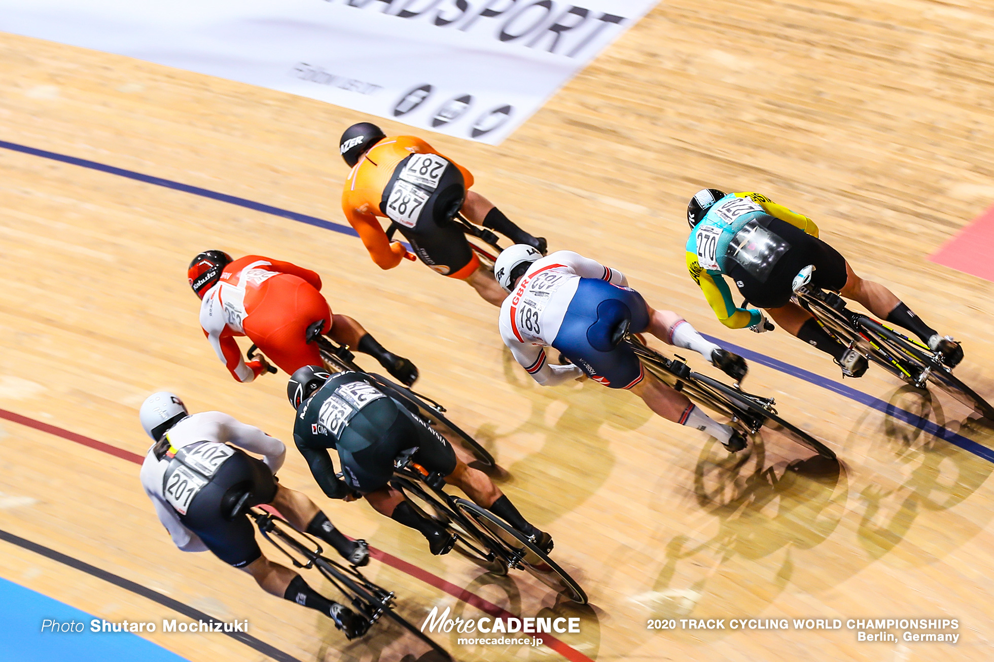 Final / Men's Keirin / 2020 Track Cycling World Championships