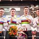 1日に2度の世界記録更新、最強オランダ圧勝/男子チームスプリント 2020世界選手権トラック・ドイツ