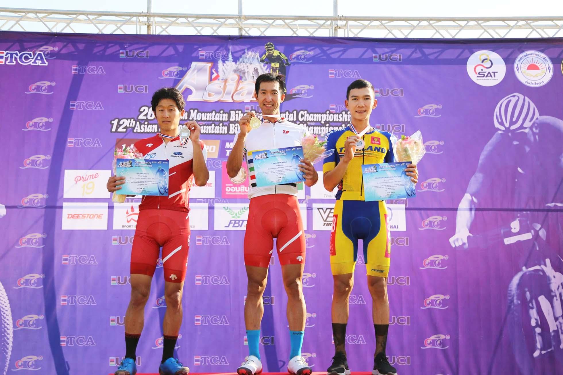 MTBアジア選手権 JCF 山本幸平(1位), 平野星矢(2位)