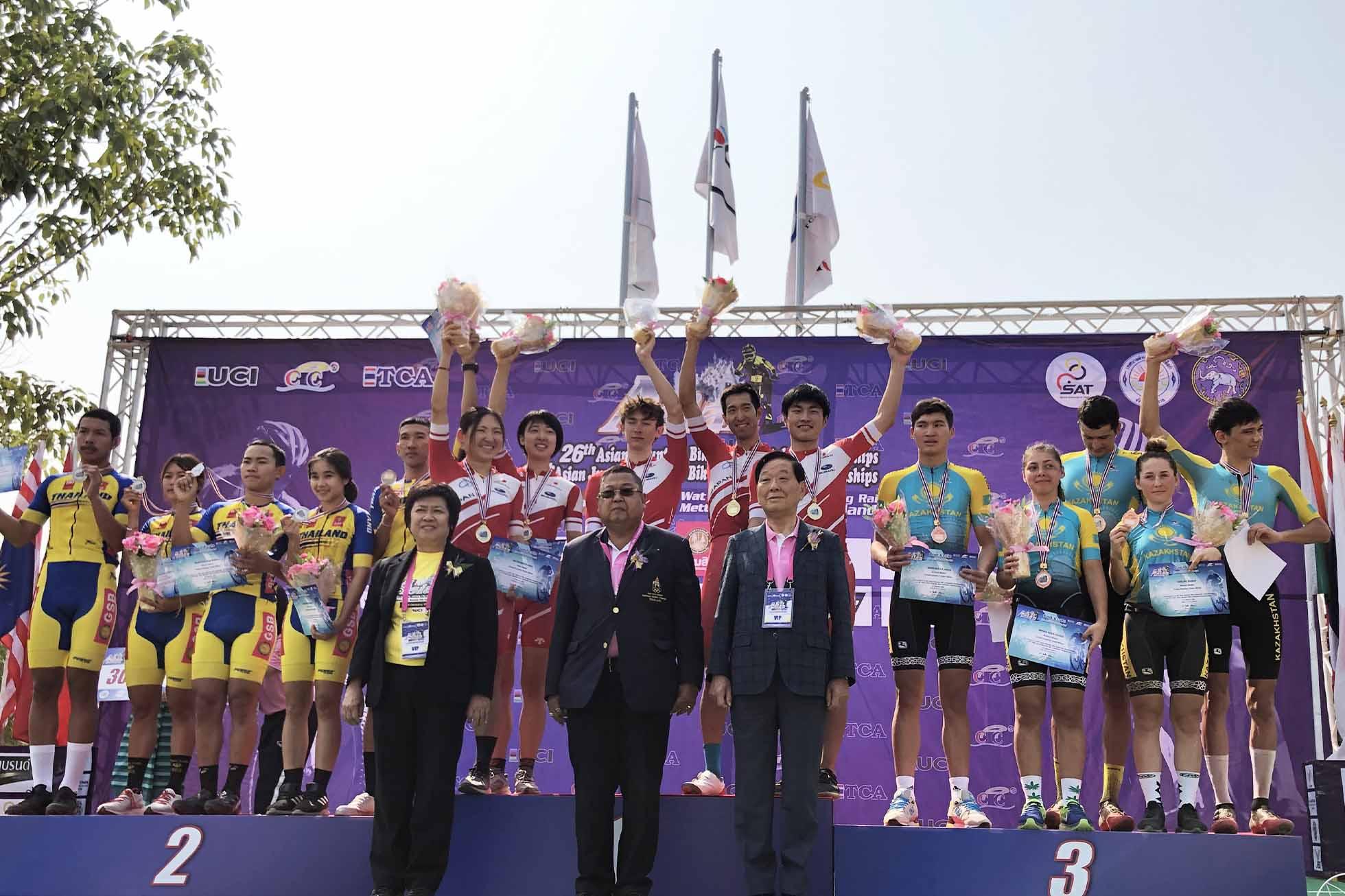 MTBアジア選手権 JCF