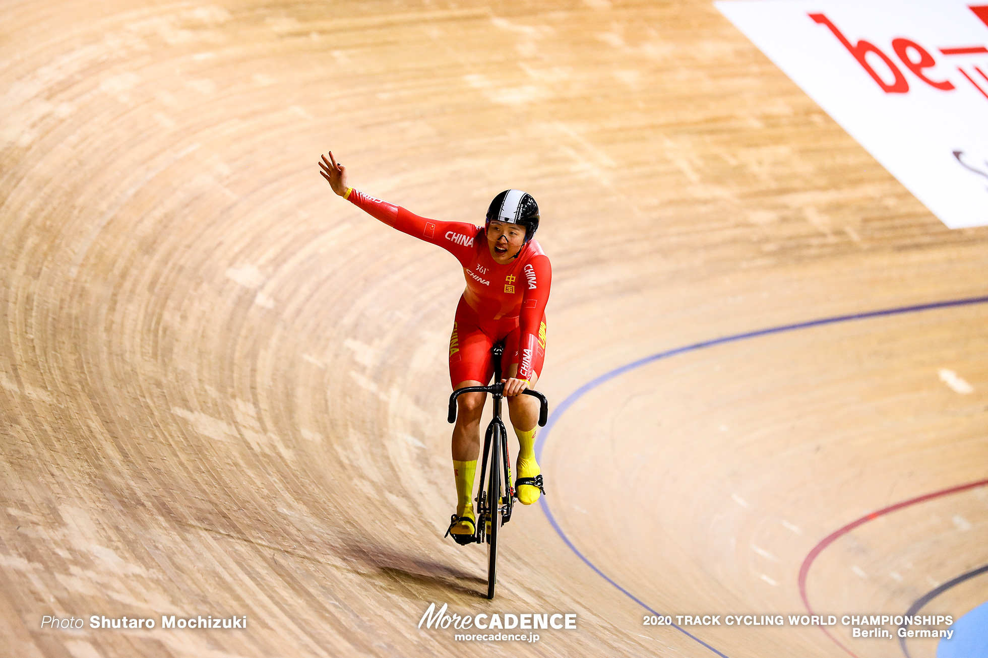 Women's Team Sprint / 2020 Track Cycling World Championships, Chen Feifei チェン・フェイフェイ