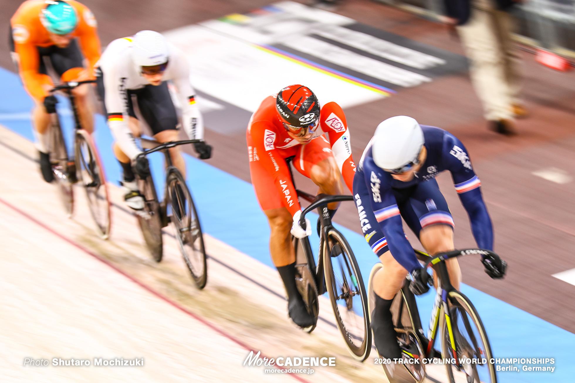 Semi Final / Men's Keirin / 2020 Track Cycling World Championships